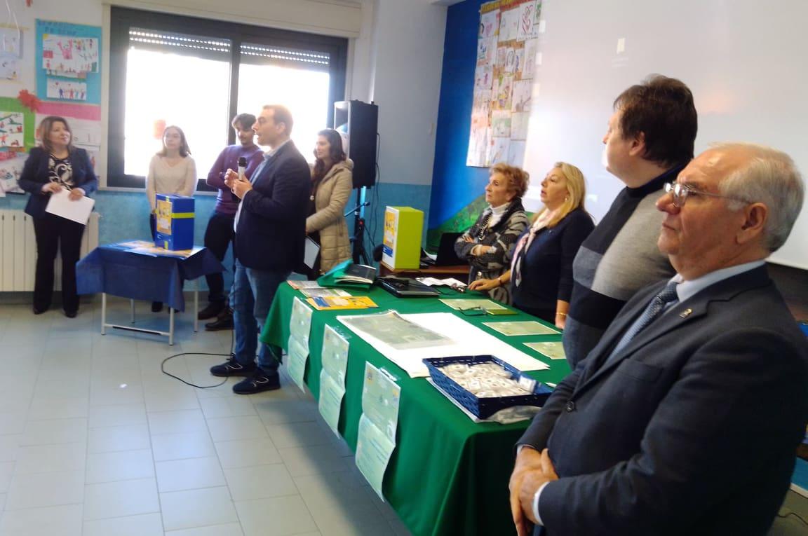PLESSO ALESSI, LEZIONE SULL'AMBIENTE COI LIONS