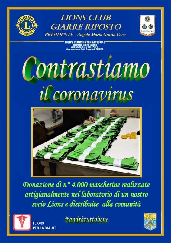 DONATE 4.000 MASCHERINE CONTRO IL CORONAVIRUS