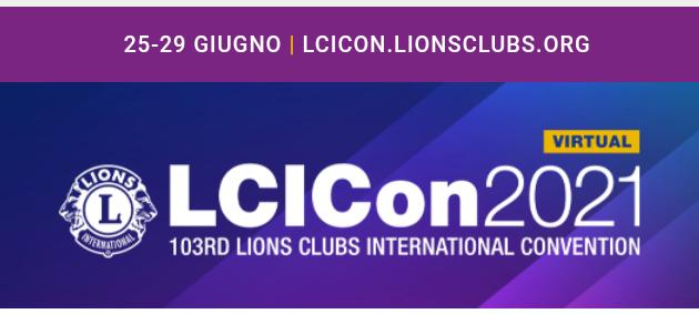 25-29 GIUGNO CONVENTION INTERNAZIONALE LIONS